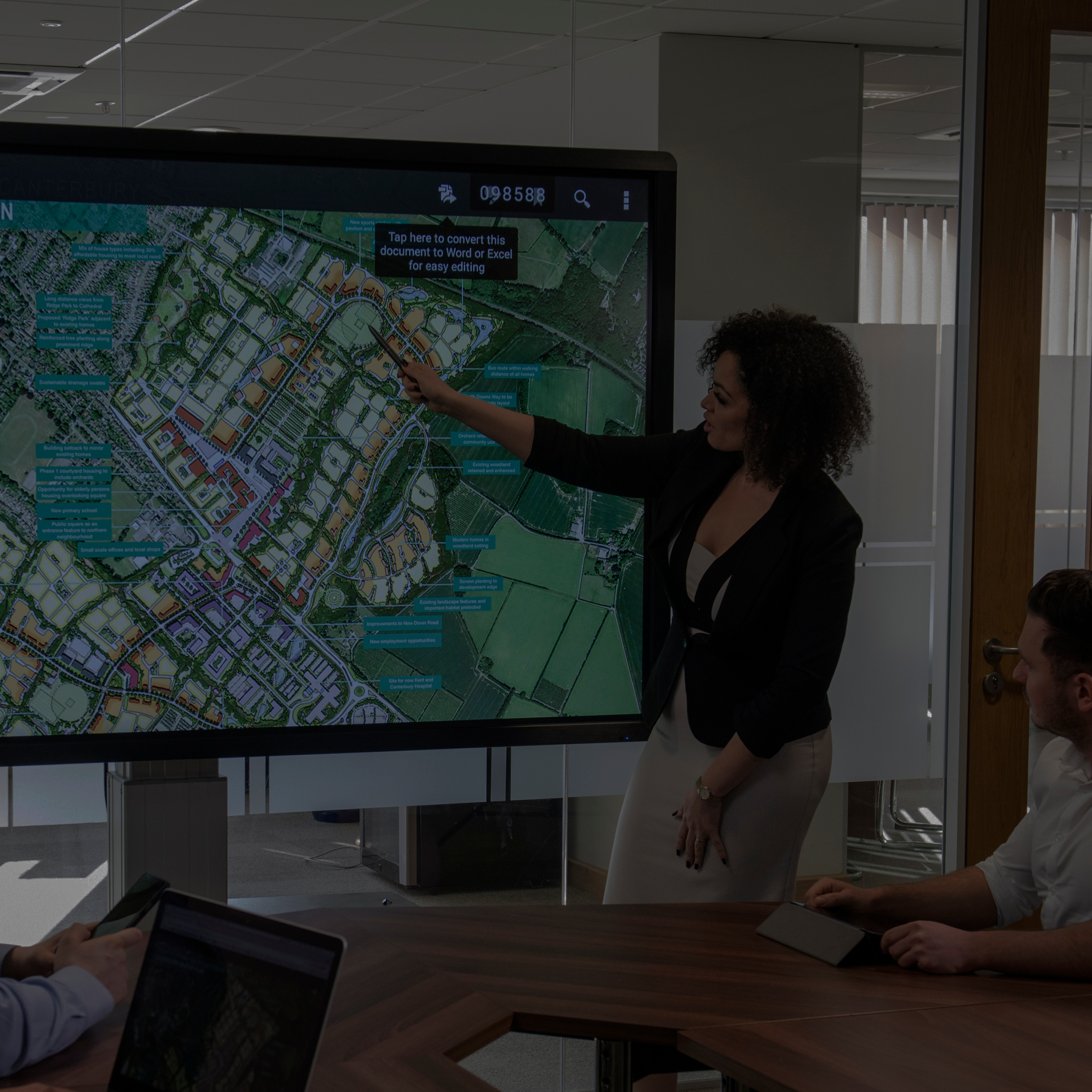 Clevertouch TV Banner